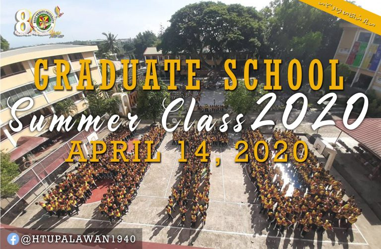 Enrollment for Graduate School Summer 2020