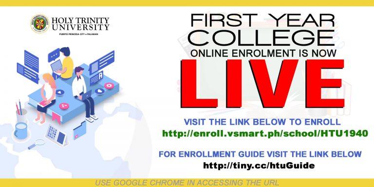 College Freshmen Online Enrollment