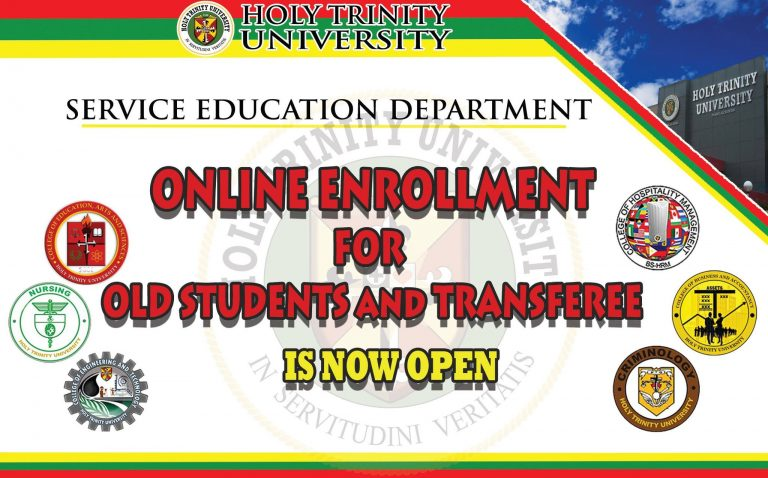 SERVICE EDUCATION DEPARTMENT OLD STUDENTS AND TRANSFEREES First Trimester Enrollment for S.Y. 2021-2022